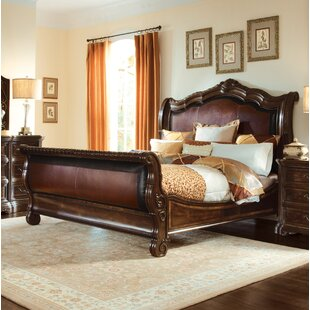 Bargain Evelyn Upholstered Sleigh Bed by Astoria Grand Reviews (2019) & Buyer's Guide