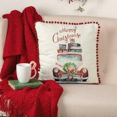 Vintage Red Truck Pillow Wayfair