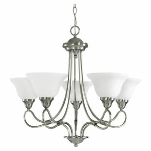 Stafford 5-Light Shaded Chandelier by Kichler