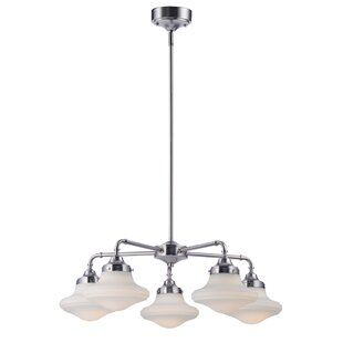 Adelia 5-Light Shaded Chandelier by Ivy Bronx