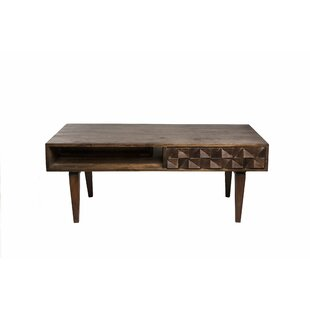 Read Reviews Clare Coffee Table with Storage By Corrigan Studio