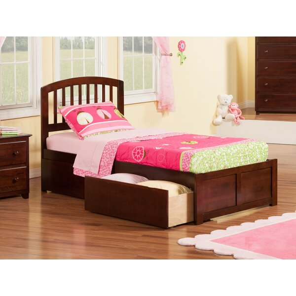 viv rae timmy extra long twin slat bed with storage reviews wayfair - Extra Long Twin Bed Frames