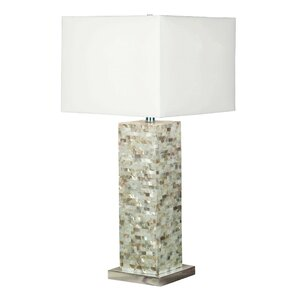 Lillian Mother of Pearl Table Lamp