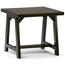 Sawhorse End Table by Simpli Home