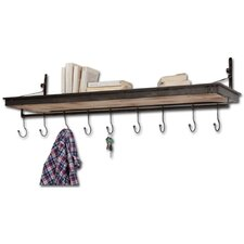 Codsall Shelf with Adjustable Hooks by Birch Lane