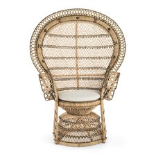 Rosana Rattan Armchair by Bayou Breeze