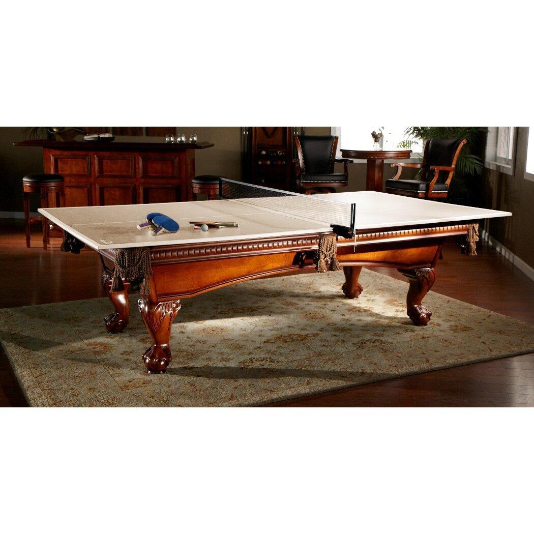 American Heritage Drop Shot Ping Pong Conversion Top Table Tennis ...