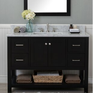 Best Reviews Fredrick 48 Single Bathroom Vanity Set By Charlton Home