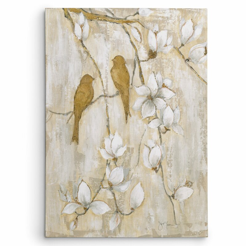 Wexfordhome Song Of Spring I By Janet Brignola Tava Painting Print On Wrapped Canvas Reviews Wayfair