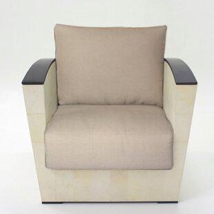Serge De Troyer Collection Parchment Lounge Chair