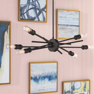 Mercury Row Byler Modern 6-Light Sputnik Chandelier
