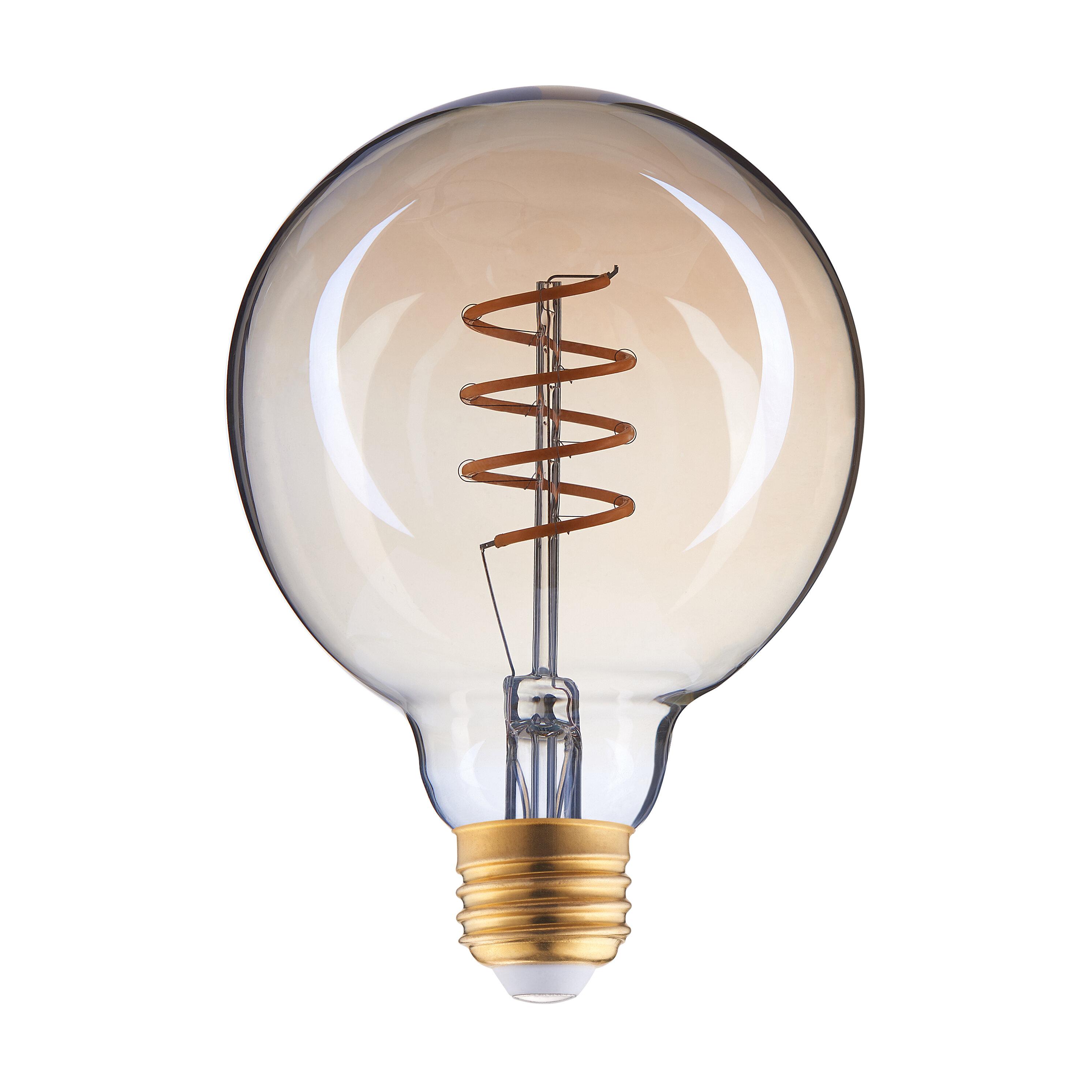 Archiology 4 Watt 40 Watt Equivalent G30 Led Dimmable Light Bulb Warm White 2700k E26 Medium Standard Base Reviews Wayfair