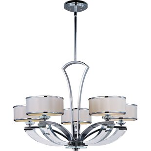 Latitude Run Pagano 5-Light Shaded Chandelier