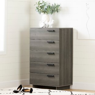 Cavalleri 5 Drawer Standard Chest by South Shore