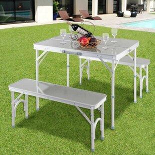 Segura Portable Folding Picnic Table Set