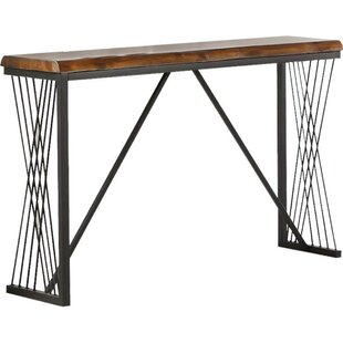 Hailey Wood Console Table