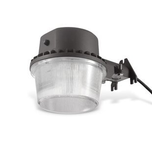Reviews Reginald Dusk to Dawn LED Outdoor Barn Light By Ebern Designs