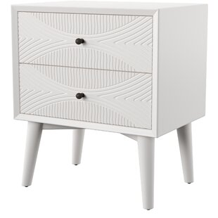 Mcelrath 2 Drawer Nightstand by Mercury Row