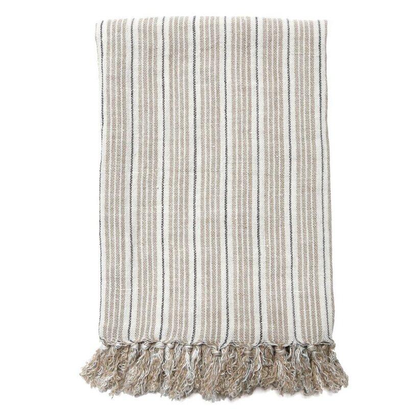 Newport Linen Throw