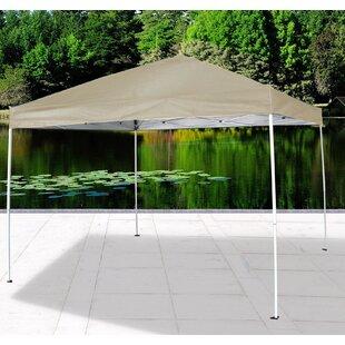 10 Ft. W x 10 Ft. D Aluminum Pop-Up Canopy by Cloud Mountain Inc.