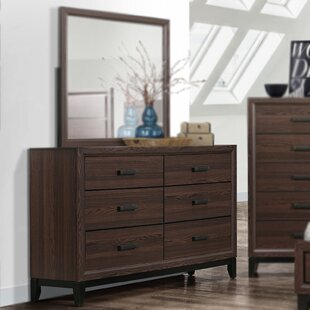 Downing 6 Drawer Double Dresser