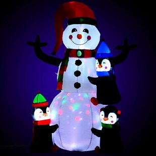 Snowman Inflatable Image
