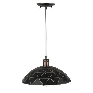 George Oliver Courtney 1-Light Dome Pendant