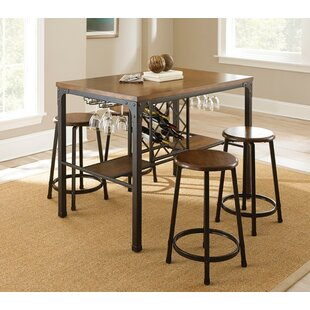Woodside 5 Piece Pub Table Set Trent Austin Design