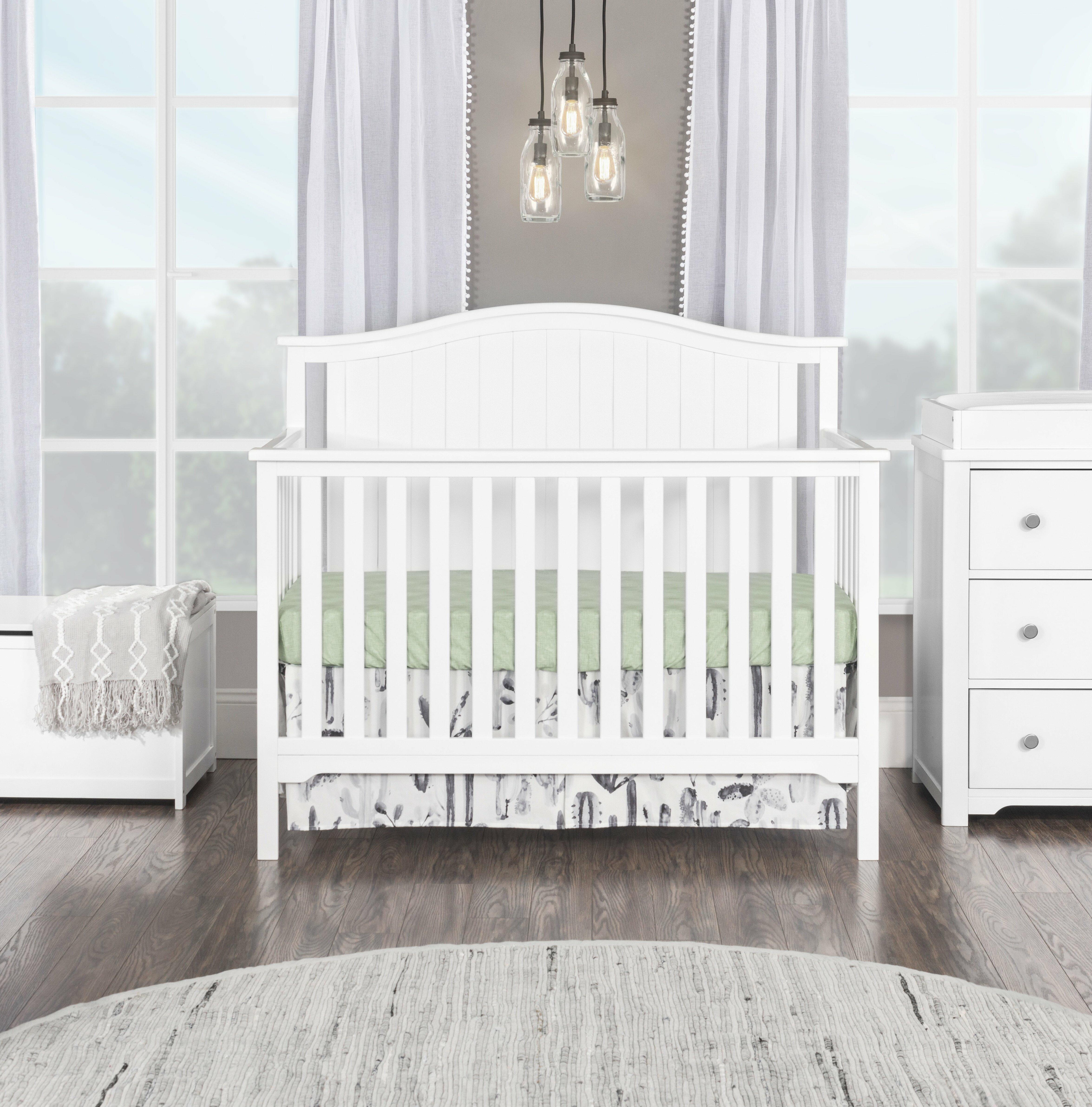 Hamel 4-in-1 Convertible Crib