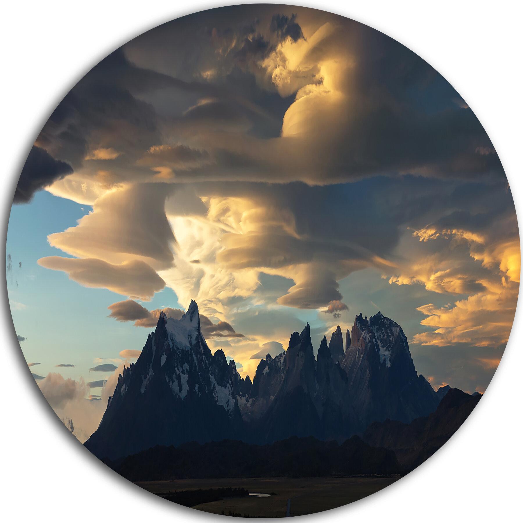 Designart Torres Del Paine National Park Photographic Print On Metal Wayfair