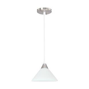 Ebern Designs Kellam 1-Light Bell Pendant