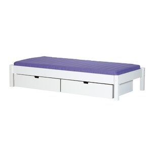 Areli European Single Bed Frame With Drawers By Harriet Bee