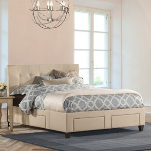 Milla Upholstered Storage Platform Bed by Darby Home Co