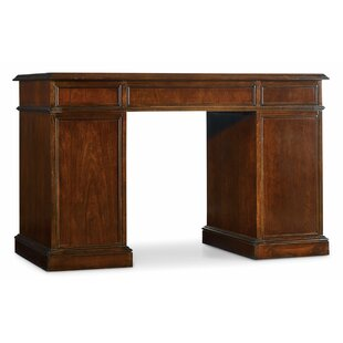 Hooker Furniture Belle Grove Bow Front Executive Desk