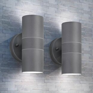 Sol 72 Outdoor Outdoor Led Wall Lights 2 Pcs Stainless Steel Up/Downwards (Set Of 2) By Sol 72 Outdoor