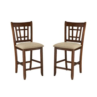 Whisman 24 Bar Stool (Set of 2) Millwood Pines