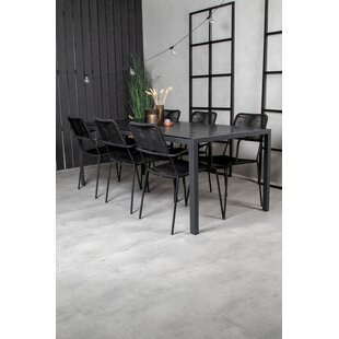Nealy 6 Seater Dining Set By 17 Stories