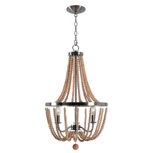 Nehemiah 3-Light Empire Chandelier by Bungalow Rose