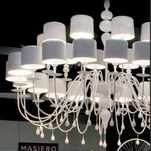 Eva 30 Light Chandelier by Masiero