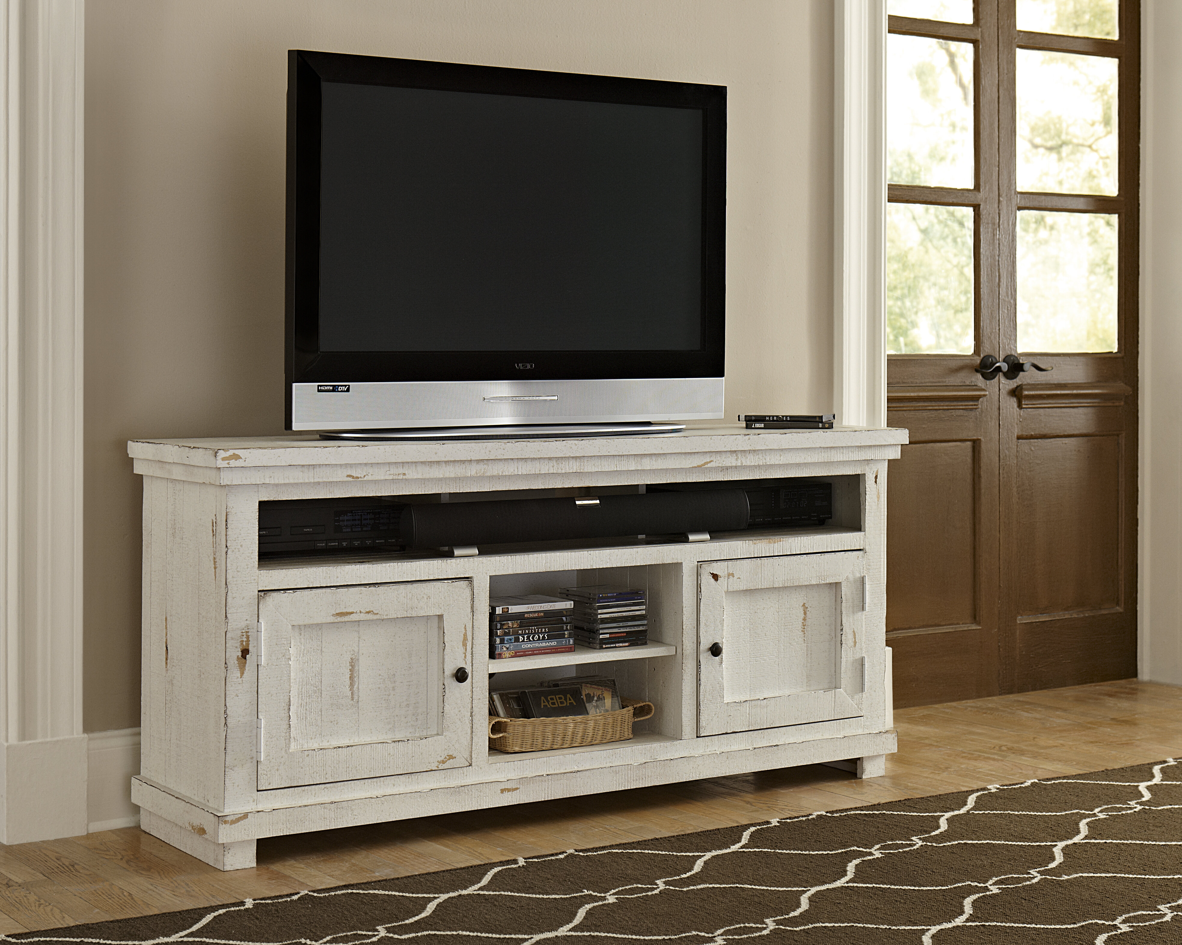 Picture of: Barbeau Tv Stand For Tvs Up To 70 Reviews