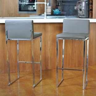 Rogue 30 Bar Stool (Set of 2) Orren Ellis
