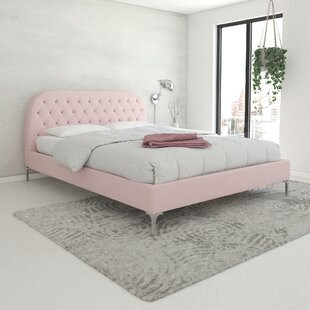 Bargain Astoria Upholstered Platform Bed by CosmoLiving by Cosmopolitan Reviews (2019) & Buyer's Guide
