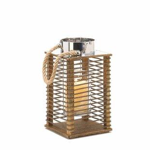 Price comparison Hudson Wooden Lantern By Zingz & Thingz