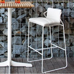 OASIQ Sandur Patio Bar Stool with Cushion