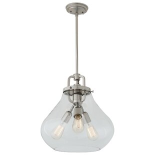 DVI Coronado 3-Light Schoolhouse Pendant