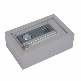 HomCom Safe Box with Electronic Lock