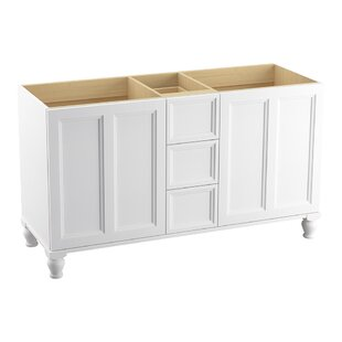 Damask? 60 Vanity with Furniture Legs, 2 Doors and 3 Drawers by Kohler