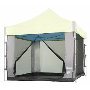 E-Z UP Cube Mesh 6 Person Tent with Carry Bag