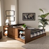 Evelin Queen Solid Wood Low Profile Platform Bed by Union Rustic