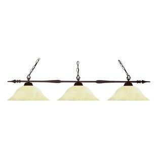 Fleur De Lis Living Beech Hill 3-Light Pool Table Lights Pendant